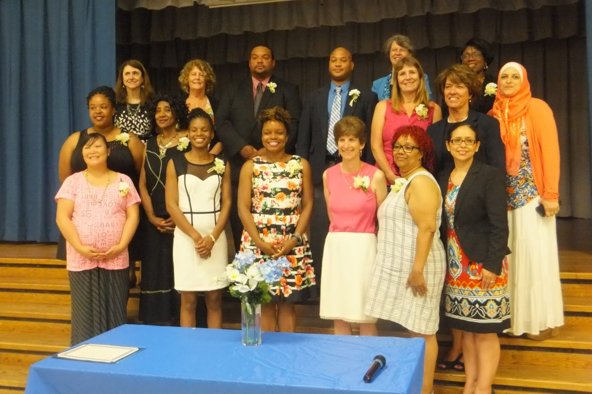 SECAC-PG 2014-2015 Extraordinary Service Award Recipients