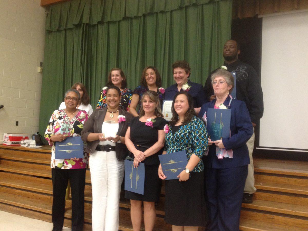 SECAC-PG 2012-2013 Extraordinary Service Award Recipients